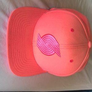 Pink mitchell&Ness portland trailblazers hat
